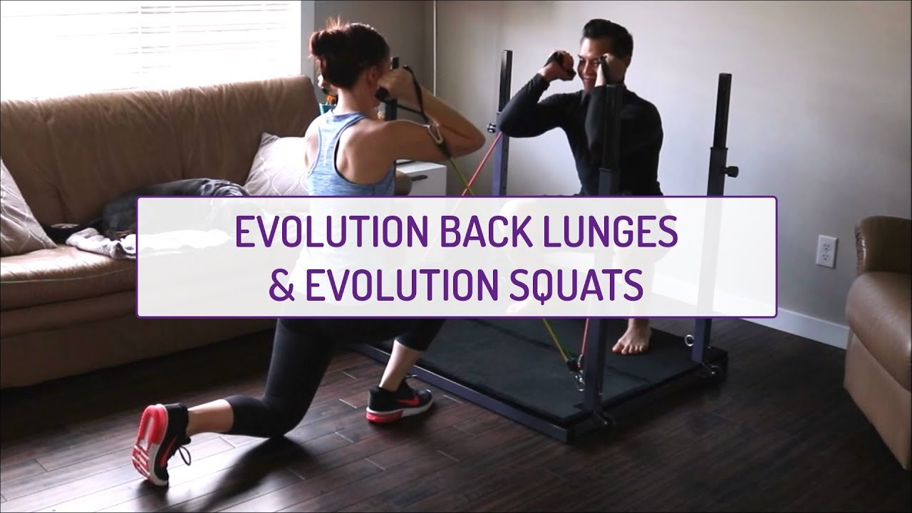 Partner Exercises | Evolution Back Lunges & Evolution Squats
