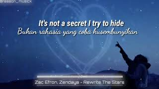 The write The stars - Zac Efron, Zendaya |lirik|subtitle indonesia|