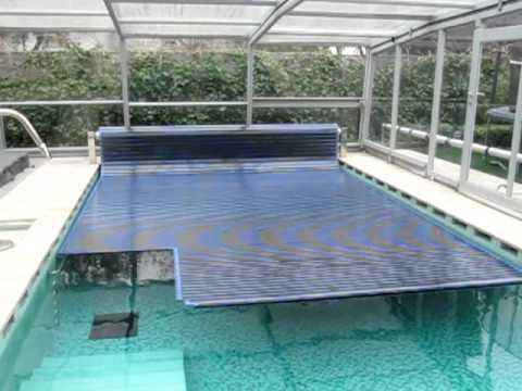 Climatizacion de piscinas manta termica de piscinas de policarbonato mov youtube - Mantas termicas para piscinas ...