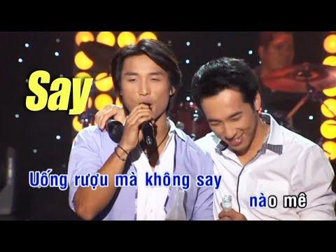 Karaoke Say Tone Nam - Đan Nguyên & Quốc Khanh (Beat Chuẩn)