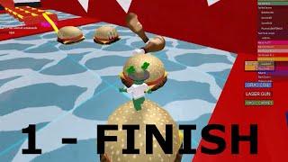ROBLOX - Escape McDonalds Obby! 1 - FINISH