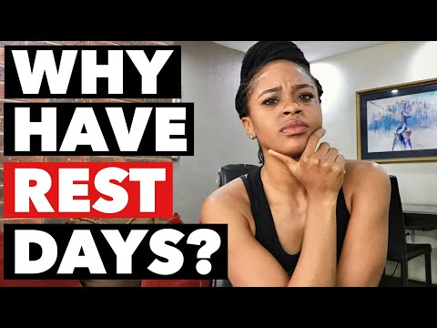 Why is a rest day important in exercise