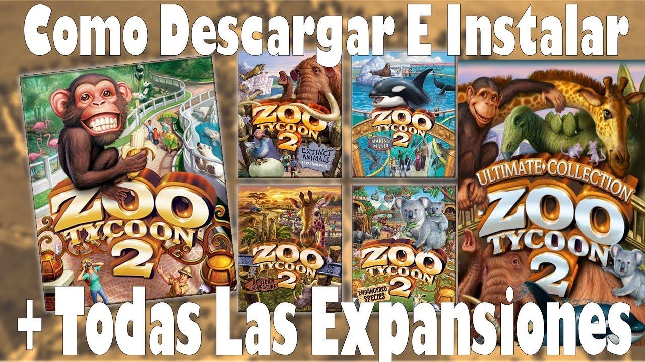 Descargar e Instalar Zoo tycoon 2 +Todas Las Expansiones [Español-Ingles]