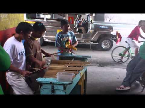 street musicians at mrt taft (philippines)