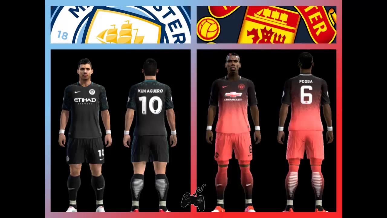 Kits MANCHESTER City/United • FANTASY • Liga