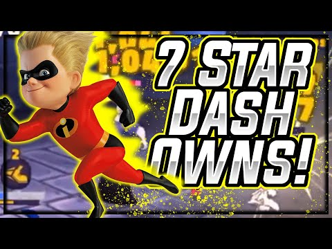 7 Star Dash Is AMAZING. Gameplay & Where To Use!   Disney Sorcerer's Arena