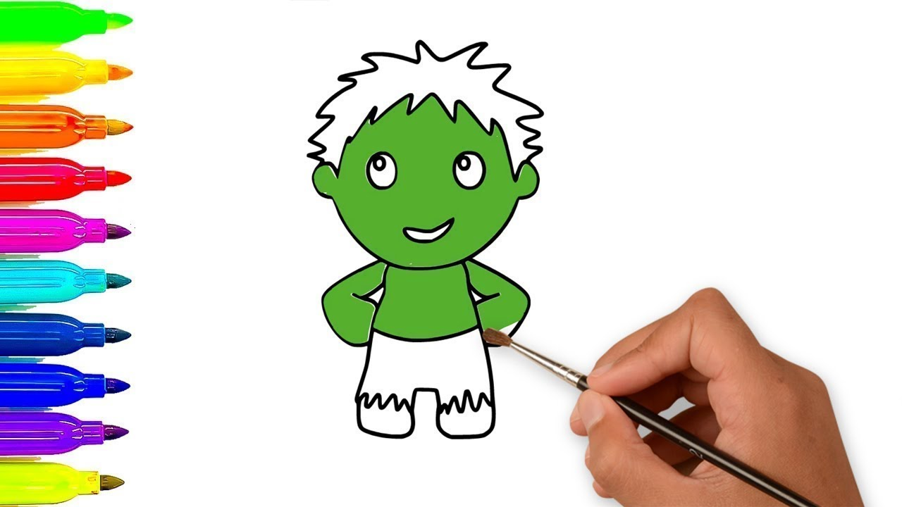 Baby Hulk Coloring Pages Hulk coloring pages for kids printable free ...