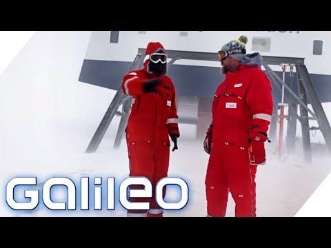 Zu Besuch Auf Der Neumayer-Station In Der Antarktis | Galileo | ProSieben