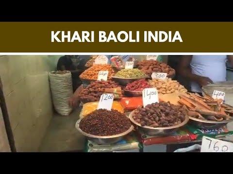 The Khari Baoli Spice Markets in India