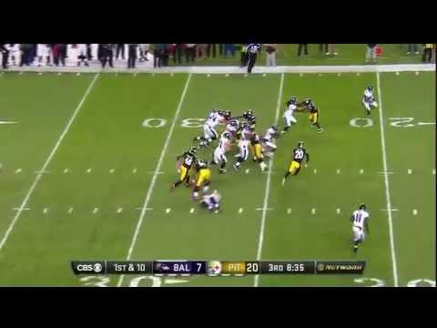 Ravens RB Buck Allen Takes Will Allen for a Piggyback Ride | Ravens vs. Steelers | NFL