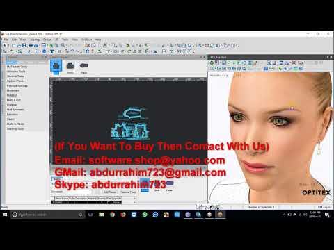 Optitex 17 SP2 V17 1 633 Full Installation Tutorial Work 100