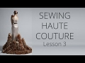 Premium Dress | How to sew Haute Couture Fashion Dress DIY #3