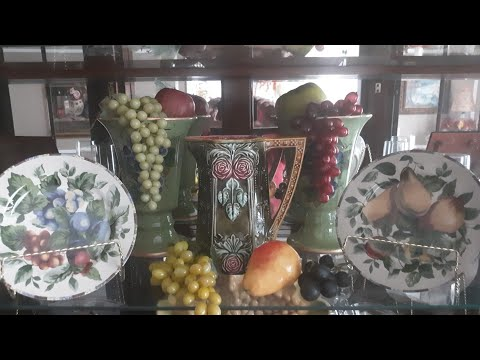 Decorate With Me Fall 2019 China Hutch Dining Room