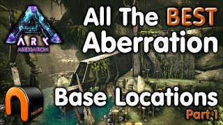 ARK THE BEST BASE LOCATIONS On Aberration - Green Safe Zone