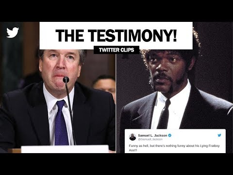 Brett Kavanaugh's mash-up with Samuel L. Jackson (Pulp Fiction Testimony: Full Video)