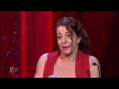 Nora Navas recibe el Goya a la Mejor Actriz Protagonista por Pa negre