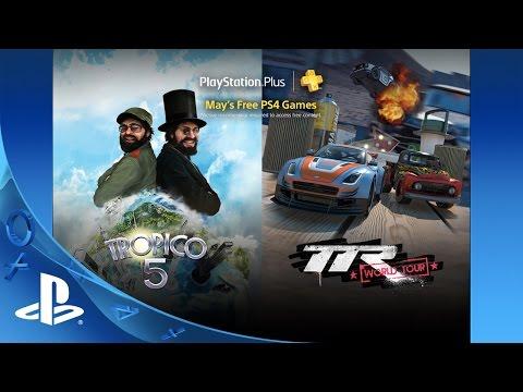 PlayStation Plus Free PS4 Games Lineup May 2016