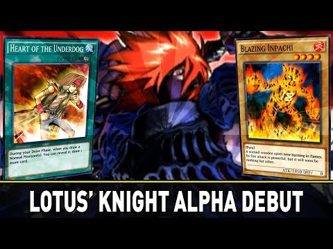 Knight of Red Lotus Alpha Deck | YuGiOh Duel Links Mobile PVP w/ ShadyPenguinn