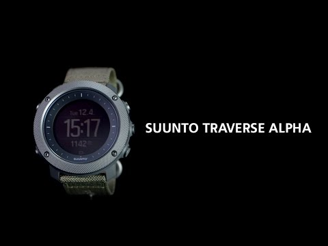Suunto Traverse Alpha - a GPS watch purpose-built for hunting and fishing