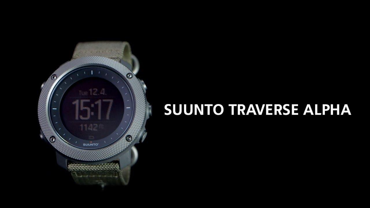 10d314c15 SUUNTO - Traverse Alpha - Stealth - Klokke