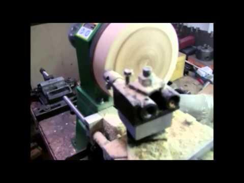 10 X 18 Wood Lathe Conversion To Metal