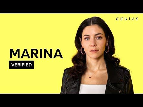 "MARINA ""To Be Human"" Official Lyrics & Meaning | Verified"