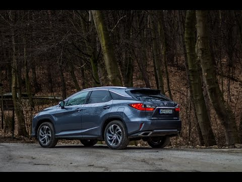 2017 Lexus RX 200t - overview, driving in some forest. Exterior and interior