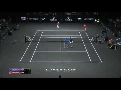 The Priceless Moments of Roger Federer with Rafael Nadal