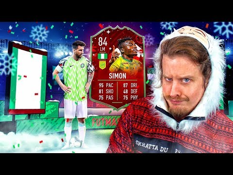 THE BEST FUTMAS CARD?! 84 FUTMAS MOSES SIMON PLAYER REVIEW! FIFA 20 Ultimate Team