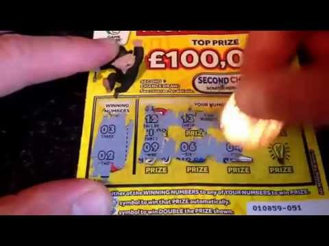 Match 3 To Win Scratchcard