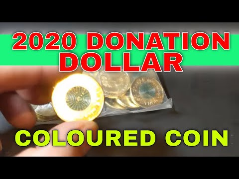 My Thoughts - 2020 Donation Dollar Coin.