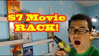 How To Make a $7 Movie Rack!