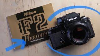 Никон Ф2 Інструкція Photomic Інструкція