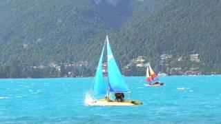 Tinker Star Traveller sailing at Annecy, France - June 2011