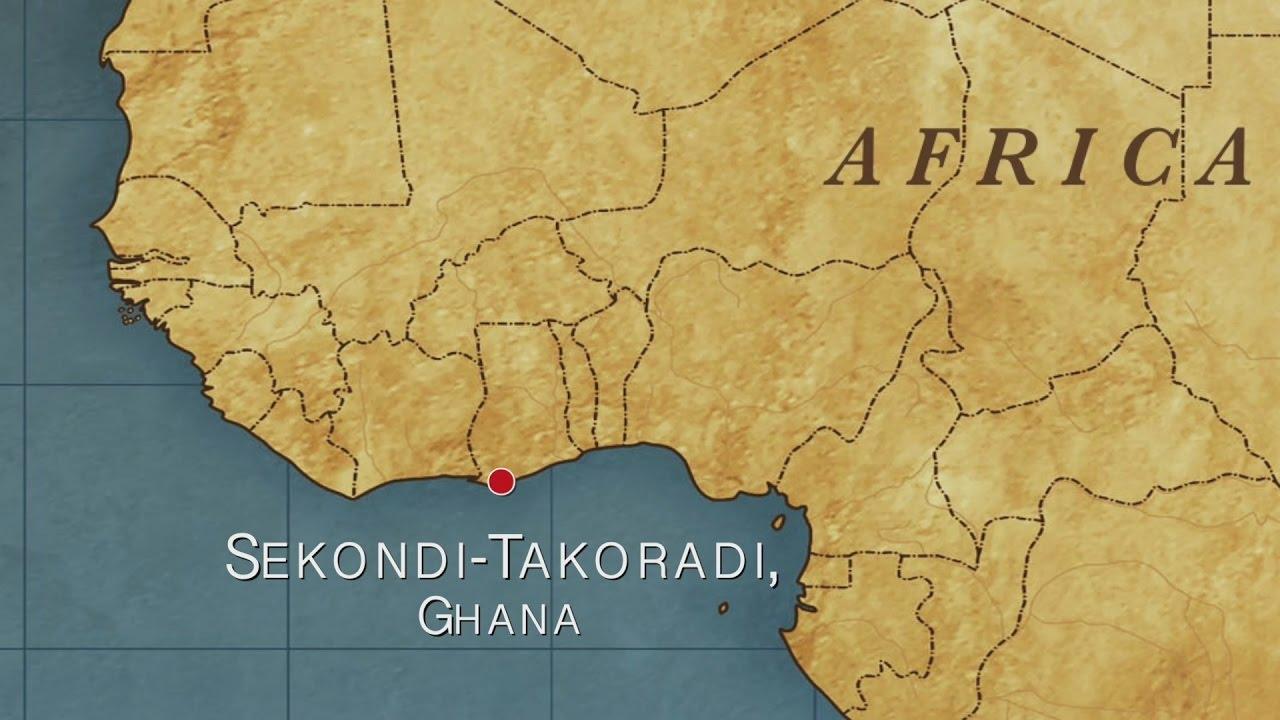 Ghana Karte.Sekondi Takoradi Ghana Port Report