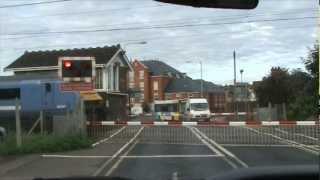Stowmarket Station Level Crossing