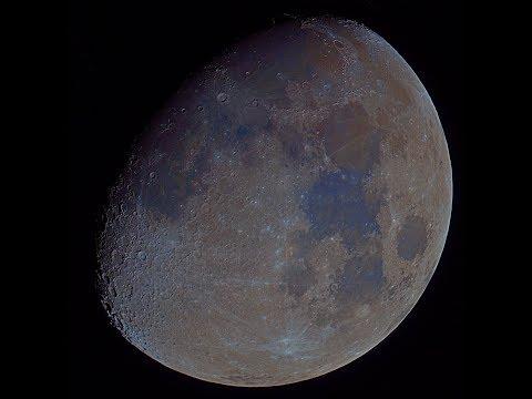 The Lunar Surface Through A Telescope! (March 22, 2019)