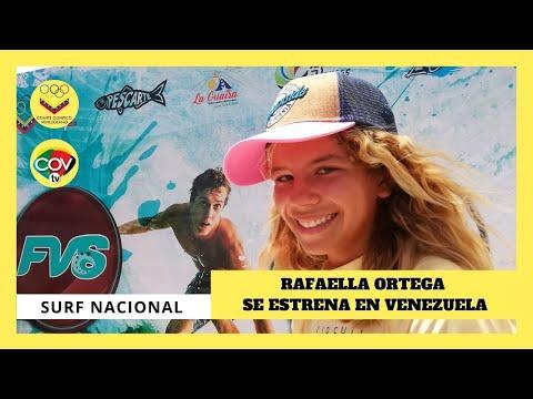 🏄 Rafaella Ortega debutó en el Campeonato Nacional de Surf 🏄