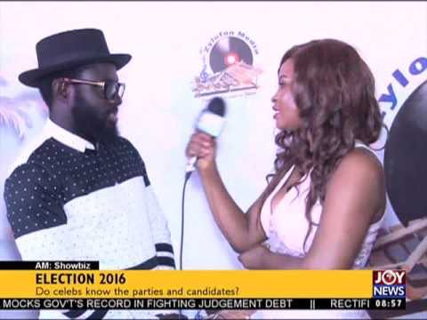Election 2016 - AM Showbiz on Joy News (29-11-16)