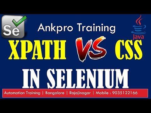 selenium-with-java-12---xpath-vs-css-selector- -differences-between-xpath-&-css-selector-in-selenium