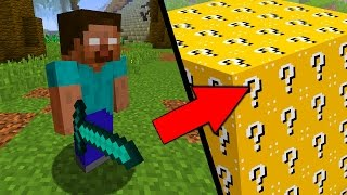 LUCKY BLOCK VS. HEROBRINE (MINECRAFT)