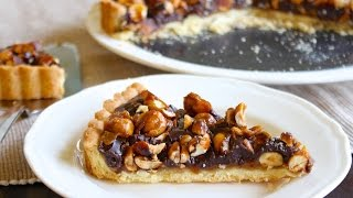 "HOW TO MAKE A CHOCOLATE CARAMEL ""SNICKERS"" TART"