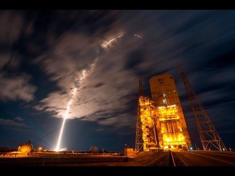 NASA: Orbital ATK Cygnus-5 Solar Array Deployment