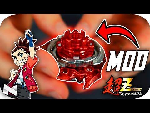 Z Achilles Secret Mode!? Beyblade Burst Super Z MOD!!! ベイブレードバースト 超ゼツ