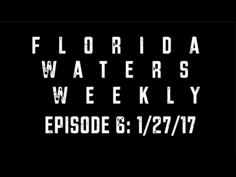 Florida Waters Weekly: a weekly run-down of Florida's water issues — 1/27/17 (E6)