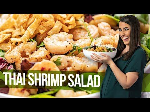 Easy Thai Shrimp Salad