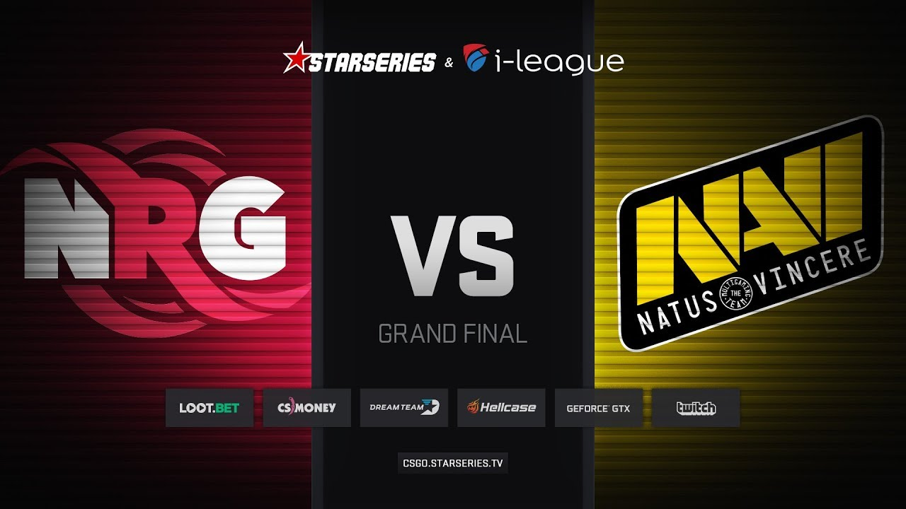 [EN] NRG vs Natus Vincere, map 1 overpass, Grand Final, StarSeries i-League Season 5 Finals
