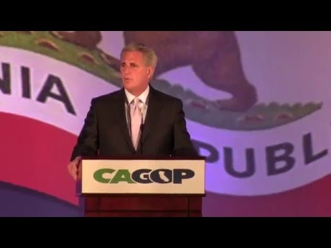 House Maj Leader Kevin McCarthy addresses Calif Republican Convention