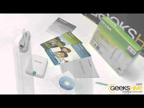 Adaptador USB Wireless-N TL-WN822N TP-Link - review by www.geekshive.com (Español)