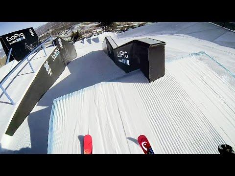 Jesper Tjäder's GoPro View at the XGames Slopestyle